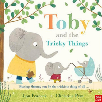 Toby And The Tricky Things 杜比學做大孩子精裝繪本