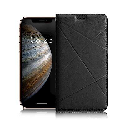 Xmart For iPhone XR 6.1吋 渴望完美真皮磁吸皮套