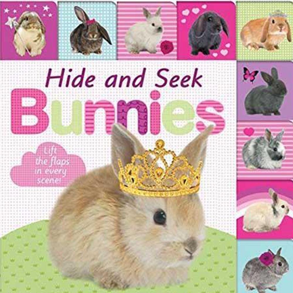 Hide And Seek Bunnies 邦尼兔愛玩捉迷藏硬頁翻翻操作書(英國版)