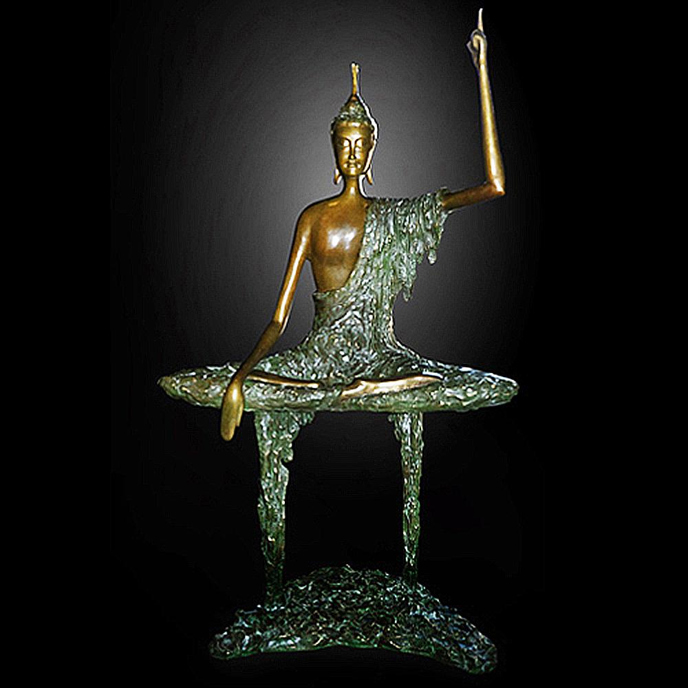 子問 限量原作銅雕~大覺 釋迦牟尼佛(佛陀)