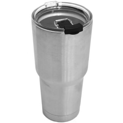 [時時樂限定]雙層真空冰霸杯900ml (密封蓋)304不鏽鋼保冷杯保冰杯.保溫杯