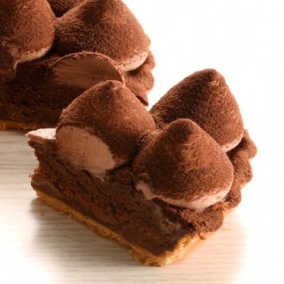 (滿10件)亞尼克派塔 松露巧克力6吋