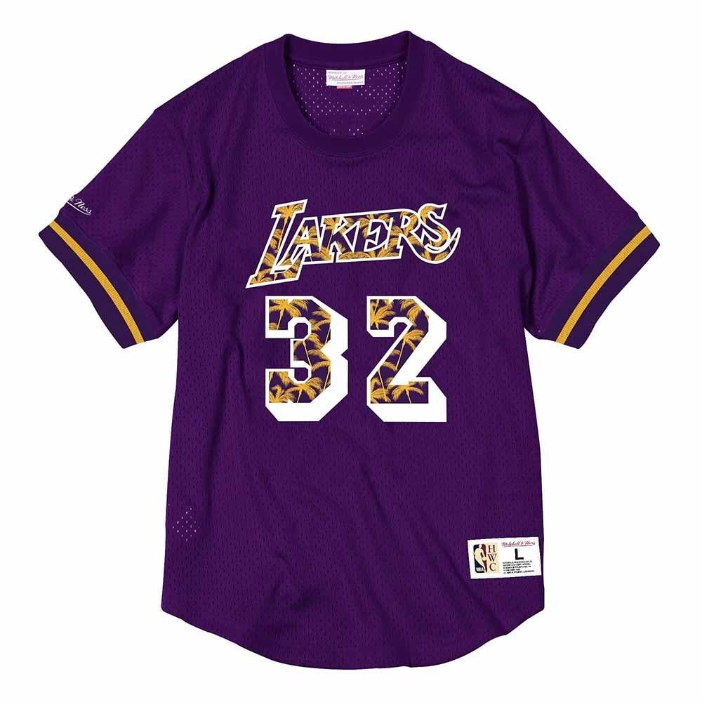 M&N NBA球員號碼T恤 湖人隊 Magic Johnson