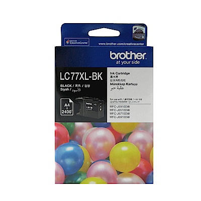 Brother LC77 XL 原廠超大容量黑色墨水匣