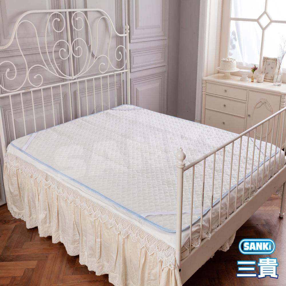 三貴SANKI 涼感紗立體3D透氣網床墊