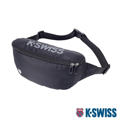 K-SWISS AT FANNY BAG 1運動腰包-黑