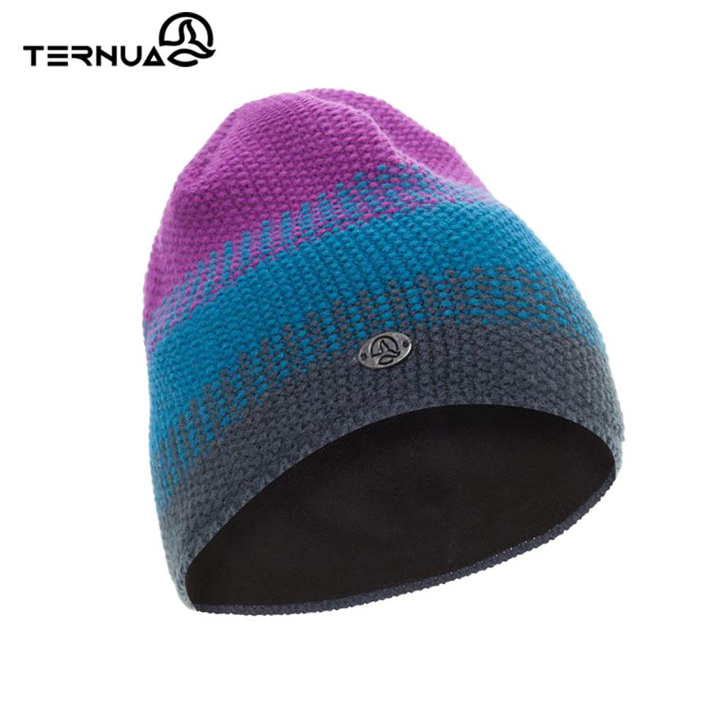 TERNUA 美麗諾保暖毛帽2661658【藍紫】