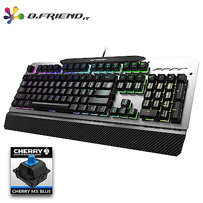 B.Friend MK5A Cheery青軸RGB發光遊戲鍵盤