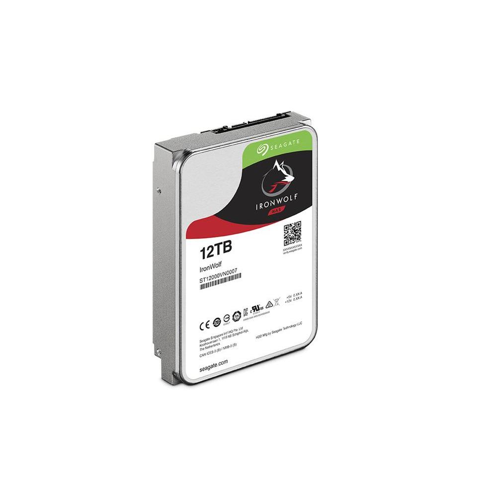 Seagate那嘶狼IronWolf 12TB 3.5吋 NAS專用硬碟
