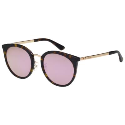 Moschino 水銀面 小熊 太陽眼鏡(琥珀色)