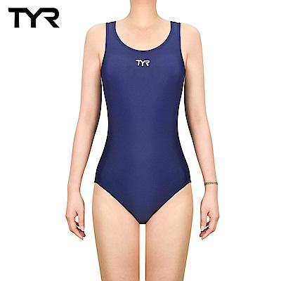 美國TYR 女用連身三角泳裝 Solid Female MaxFit 藍色