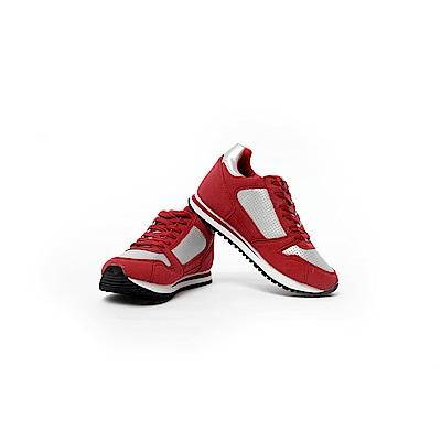 【TOPGIRL】舒適增高運動休閒鞋-紅