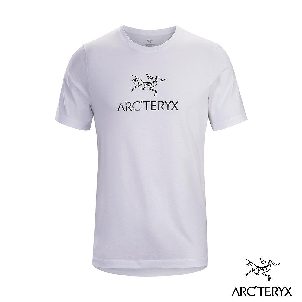 Arcteryx 始祖鳥 男 24系列 ArcWord 有機棉 短袖休閒Tee 白