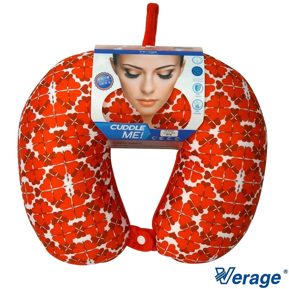 英國 Verage 四合釦雙色按摩頸枕 (C滿天星)