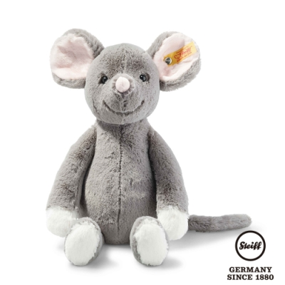 STEIFF德國金耳釦泰迪熊 Mia Mouse 頑皮的小灰鼠 (動物王國) 30cm