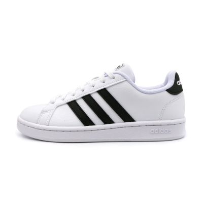 ADIDAS-GRAND COURT女休閒鞋-白-F36483