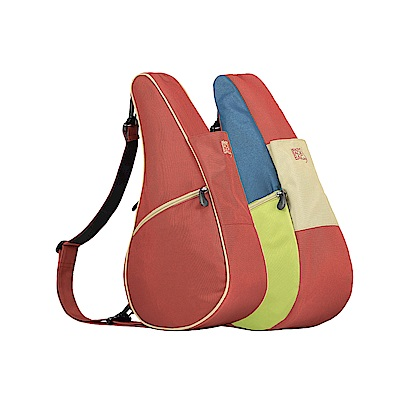 Healthy Back Bag 雙面水滴單肩側背包-S 彩色協奏