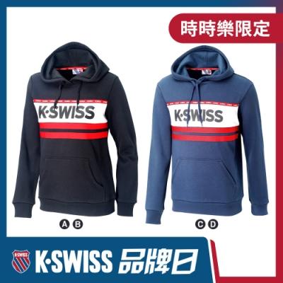 [品牌日限定]K-SWISS 刷毛圓領上衣-男女共四款