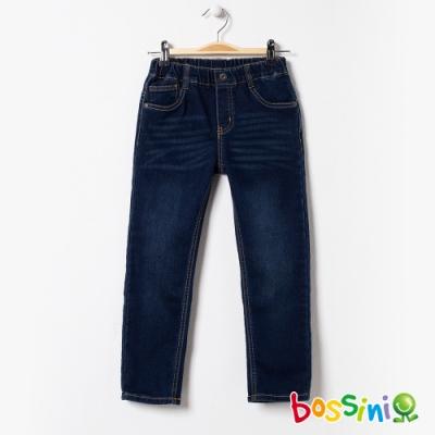 bossini男童-彈性牛仔褲01深藍