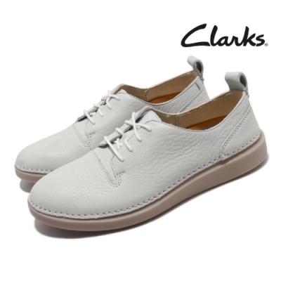 Clarks 休閒鞋 Hale Lace 皮革 女鞋