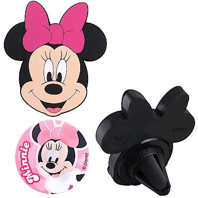 Disney迪士尼 車用磁吸架/手機架_米妮
