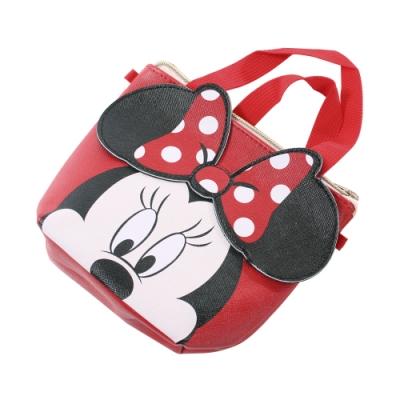 迪士尼米妮側背-手提兩用小包 f0340 魔法Baby