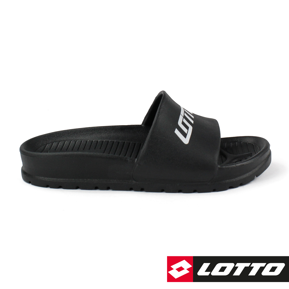 LOTTO 義大利 VENICE 輕量拖鞋 (黑)