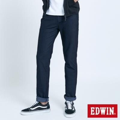 EDWIN JERSEYS 迦績 車織帶AB牛仔褲-男-原藍色