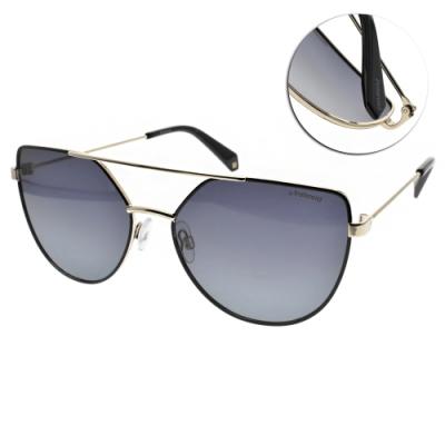 Polaroid 偏光太陽眼鏡 貓眼造型款/霧黑 #PLD6057S 807WJ