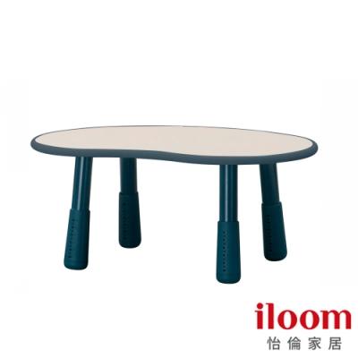 【iloom怡倫】Tinkle-Pop 幼兒800型增高式成長豌豆桌(海洋藍)