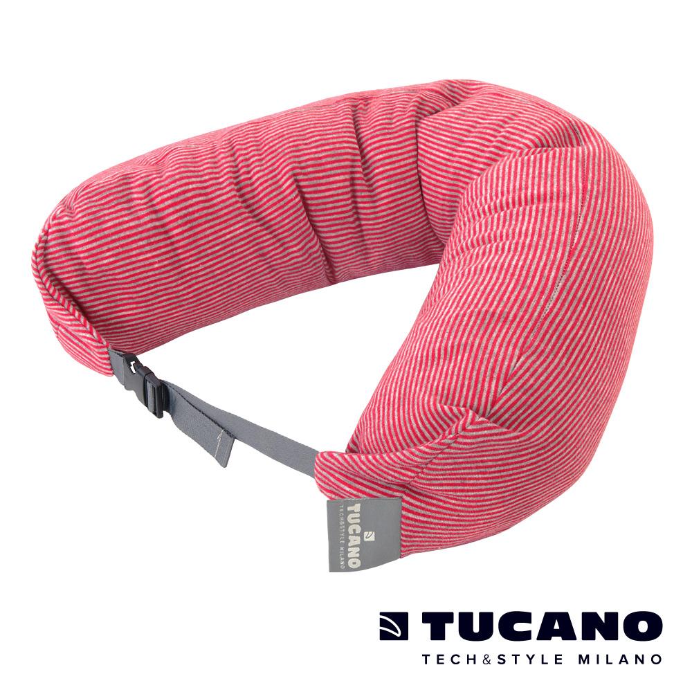 TUCANO Pisolo 超舒適旅行枕(附眼罩、耳塞)-紅