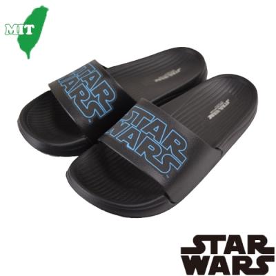 (雙11)StarWars星際大戰男鞋女鞋 輕量減壓室內外鞋-黑