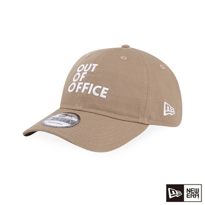 NEW ERA 940UNST MESSAGE OUT OF OFFICE 卡其
