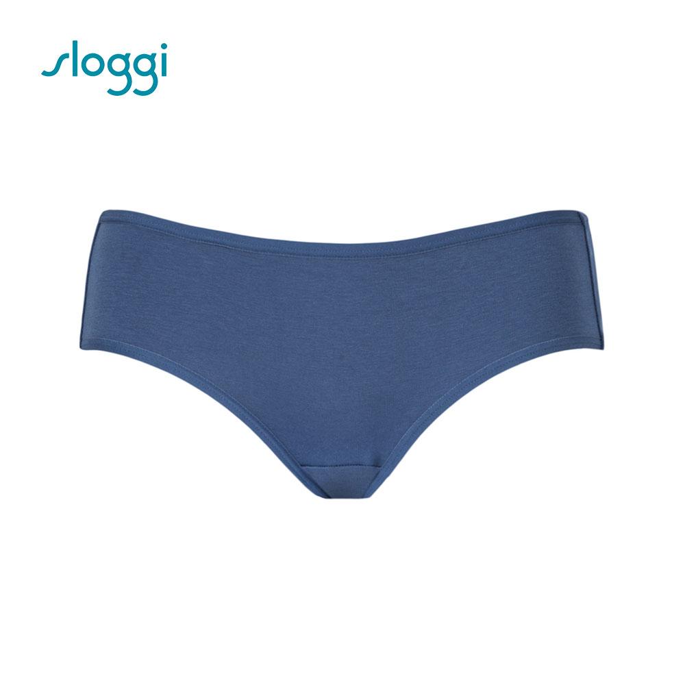 sloggi Everyday 有機過生活系列平口褲 迷霧藍