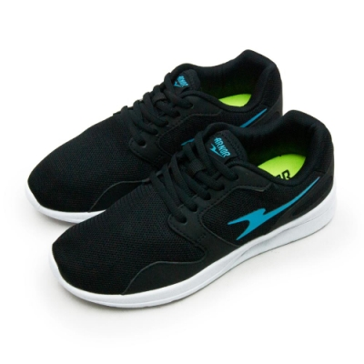 ARNOR 超輕量訓練跑鞋 極度Q彈系列 黑藍 82430