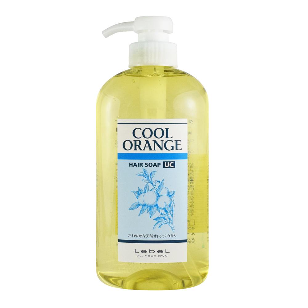 LEBEL 橘子配方洗髮精 600ML 酷涼型UC(酷冷橘配方)