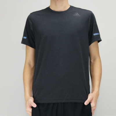 Adidas CHILL TEE M 男 短袖上衣 黑