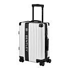 BENTLEY 20吋全鋁鎂合金LOGO版行李箱-銀