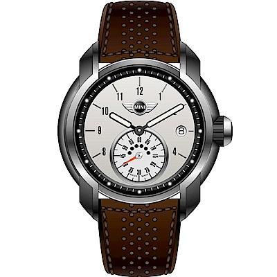 MINI Swiss Watches Cooper復古賽車腕錶(MINI-40)