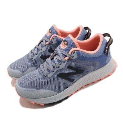 New Balance 慢跑鞋 Arishi Trail 寬楦 運動 女鞋 紐巴倫 輕量 透氣 舒適 避震 路跑 藍 灰 WTARISCGD