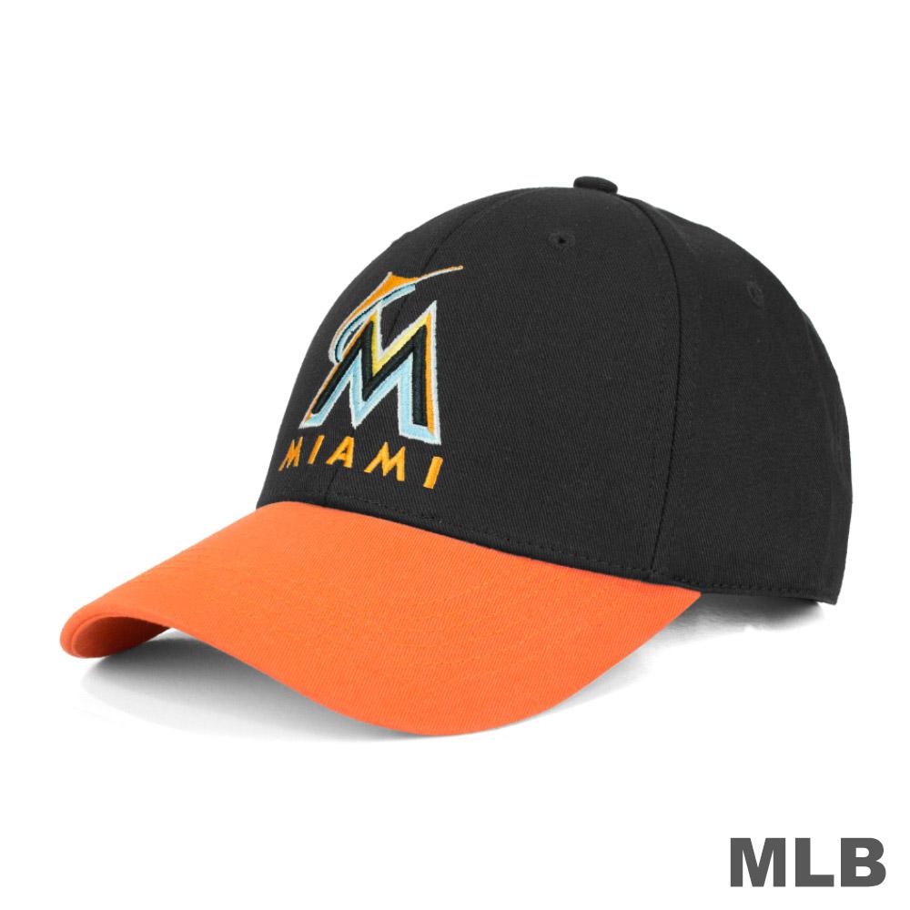 MLB-邁阿密馬林魚隊可調式復古球帽 @ Y!購物