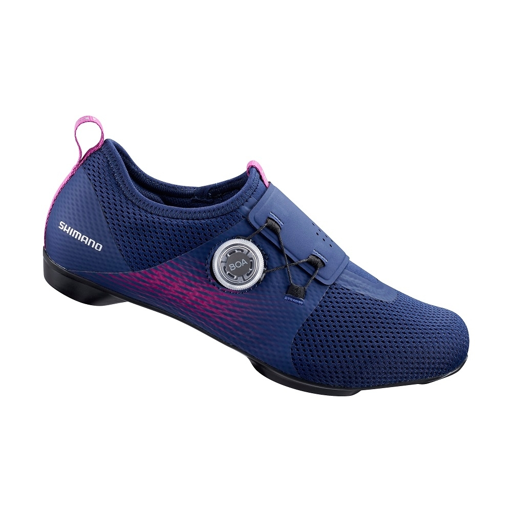 【SHIMANO】IC500 女性飛輪車鞋 紫色