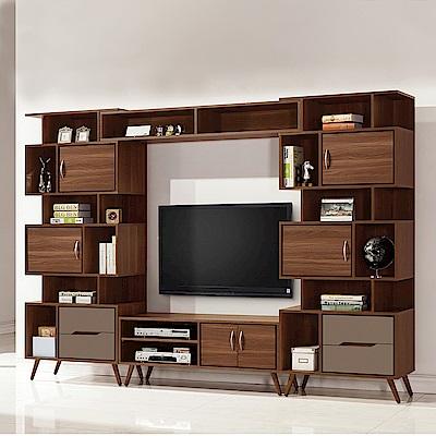 H&D 米蘭9.2尺組合電視櫃