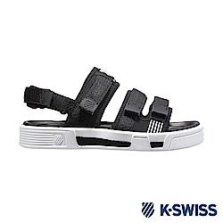 K-SWISS Trini Strap Sandal 休閒涼鞋-男-黑/白