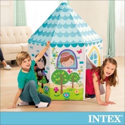 INTEX 公主與王子遊戲帳篷104x104x130cm(44635)