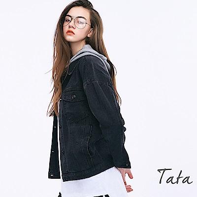 連帽牛仔外套 共二色 TATA