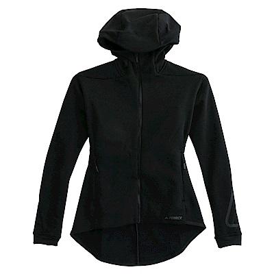 Adidas W CLMHT HOU-連帽外套-女