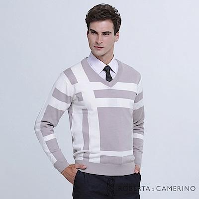 ROBERTA諾貝達 台灣製 舒適保暖 純美麗諾羊毛衣 米白