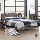 Hampton阿爾瓦系列5尺雙人床組
