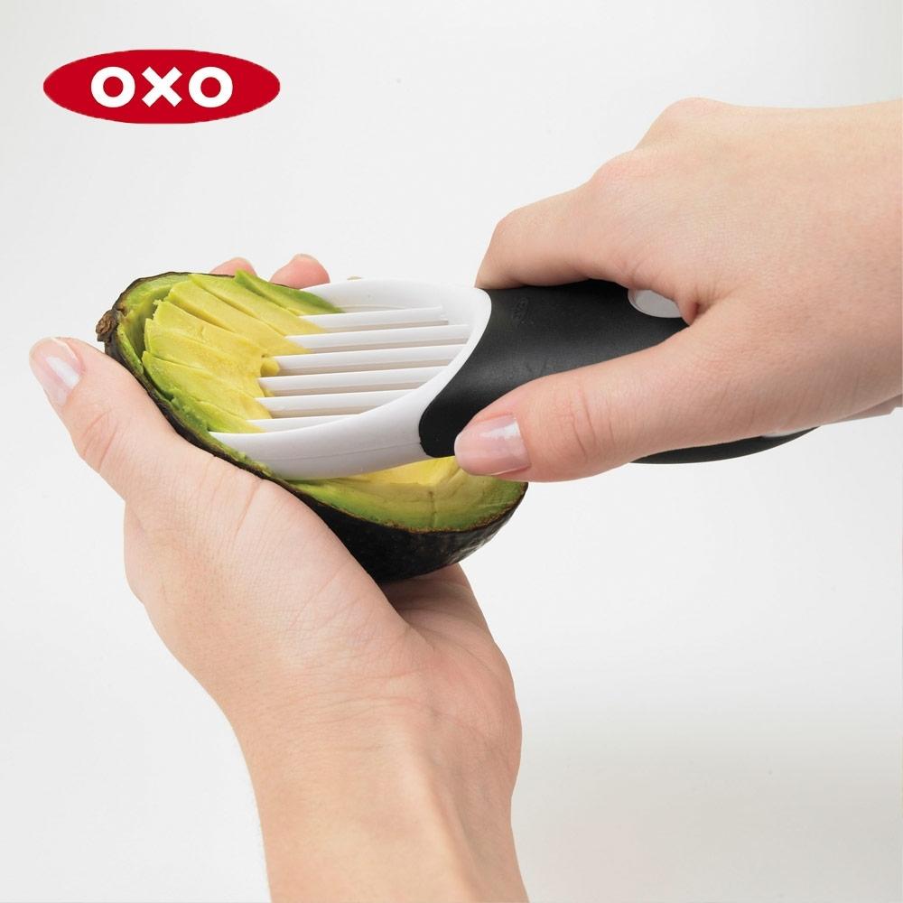 美國OXO 3in1 酪梨去核切片器(快)
